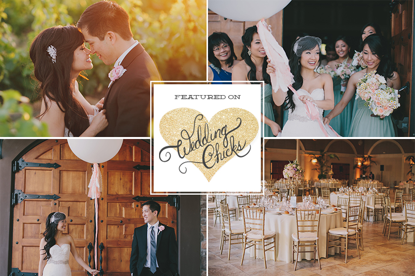 Jake and Necia: Casa De Real Wedding Chicks Feature