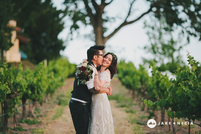 Jake and Necia Photography: Castoro Cellars wedding | Paso Robles (13)