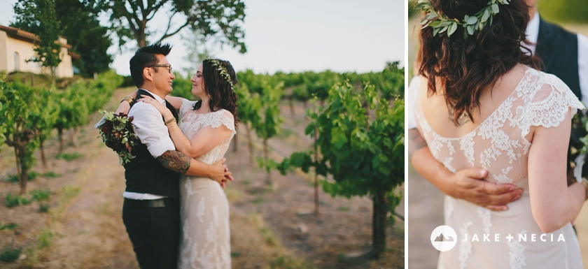 Jake and Necia Photography: Castoro Cellars wedding | Paso Robles (9)
