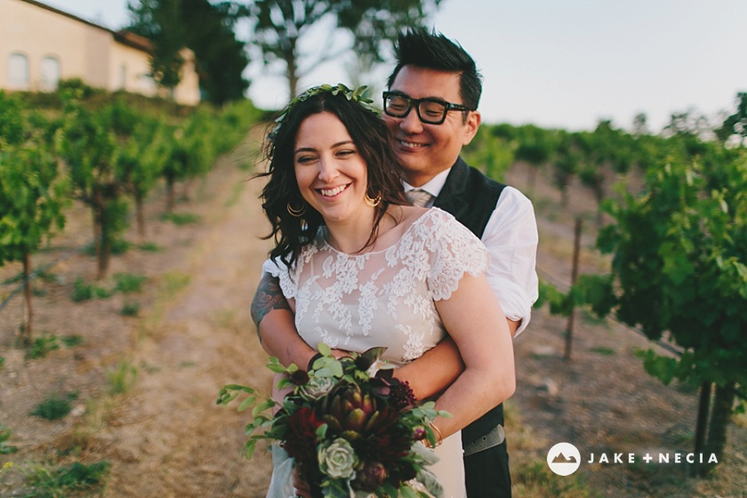 Jake and Necia Photography: Castoro Cellars wedding | Paso Robles (8)