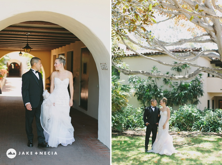 Four Seasons Biltmore & Our Lady of Mount Carmel Wedding | Jake and Necia (33)