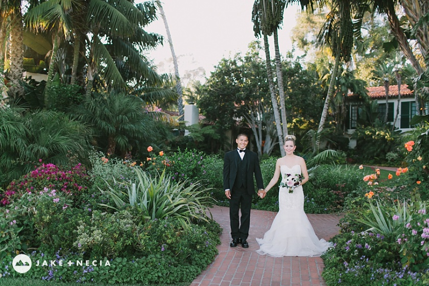 Four Seasons Biltmore & Our Lady of Mount Carmel Wedding | Jake and Necia (10)