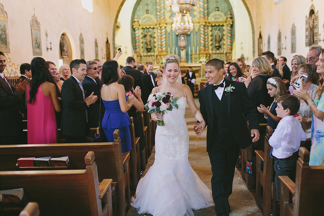 Our Lady of Mount Carmel Church Wedding by Jake and Necia Photography