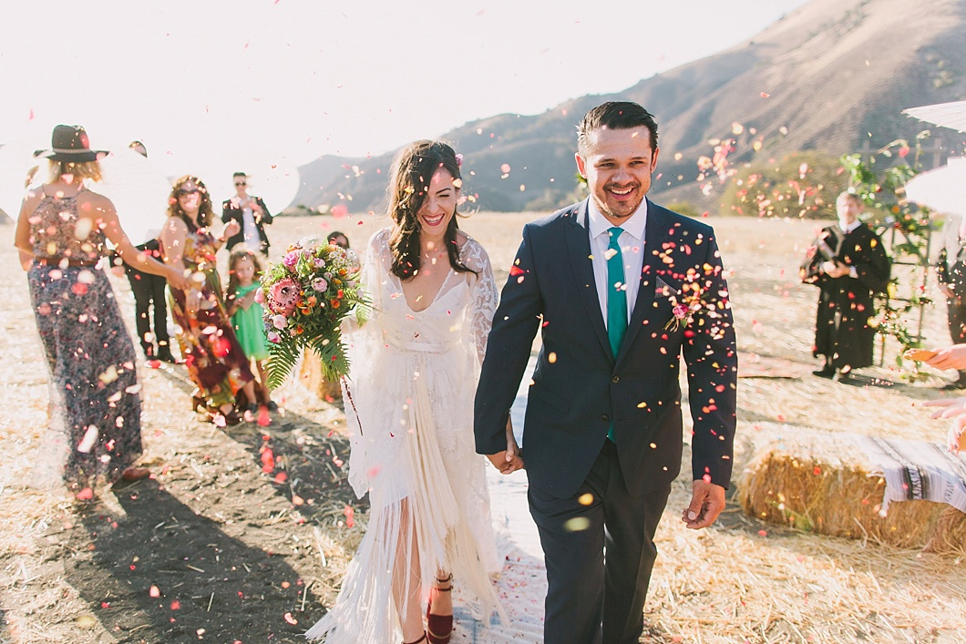 Figueroa Mountain Farmhouse wedding by jake and necia photography