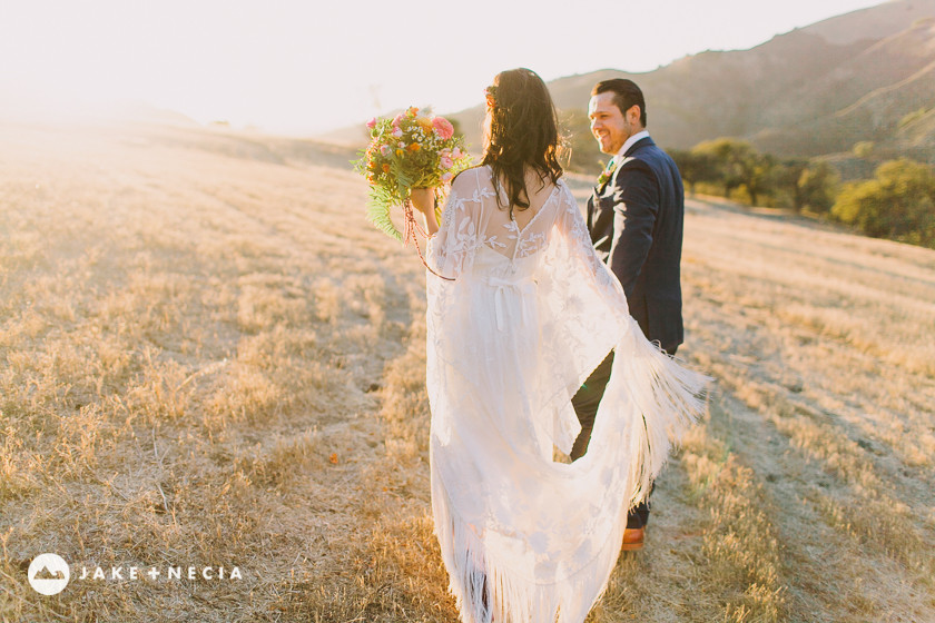 Figueroa Mountain Farmhouse Wedding by Jake and Necia Photography #28