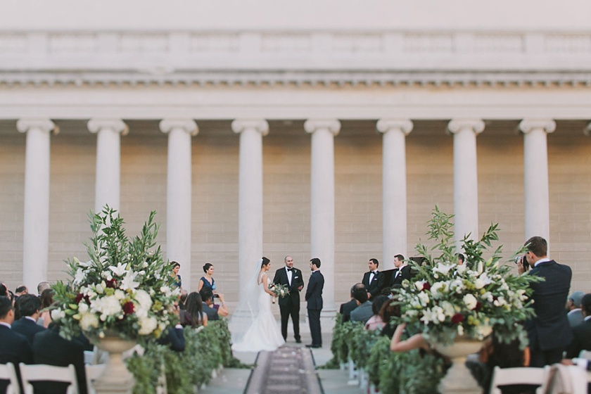 Legion of Honor wedding Featured on Grey Likes Weddings by Jake and Necia Photography